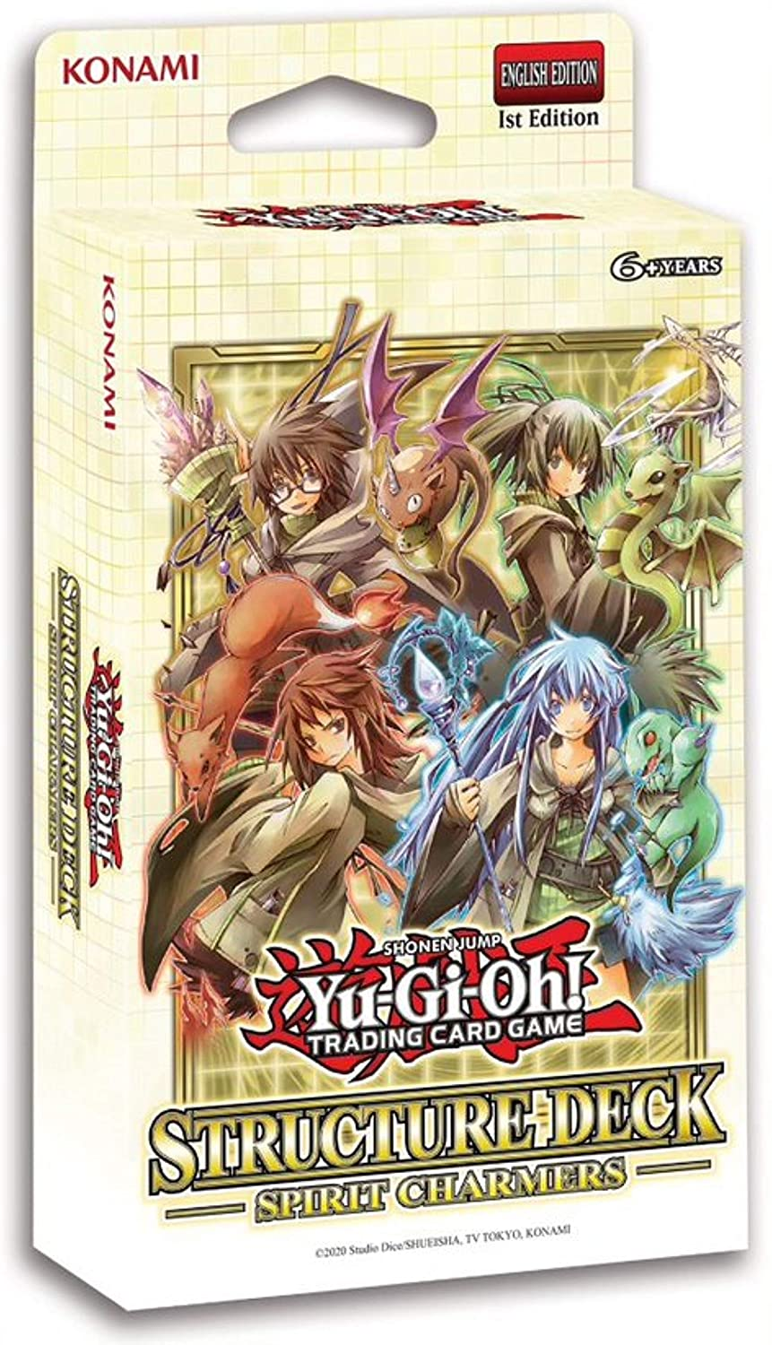 Yu-Gi-Oh CCG: Structure Deck: Spirit Charmers | Games King Store