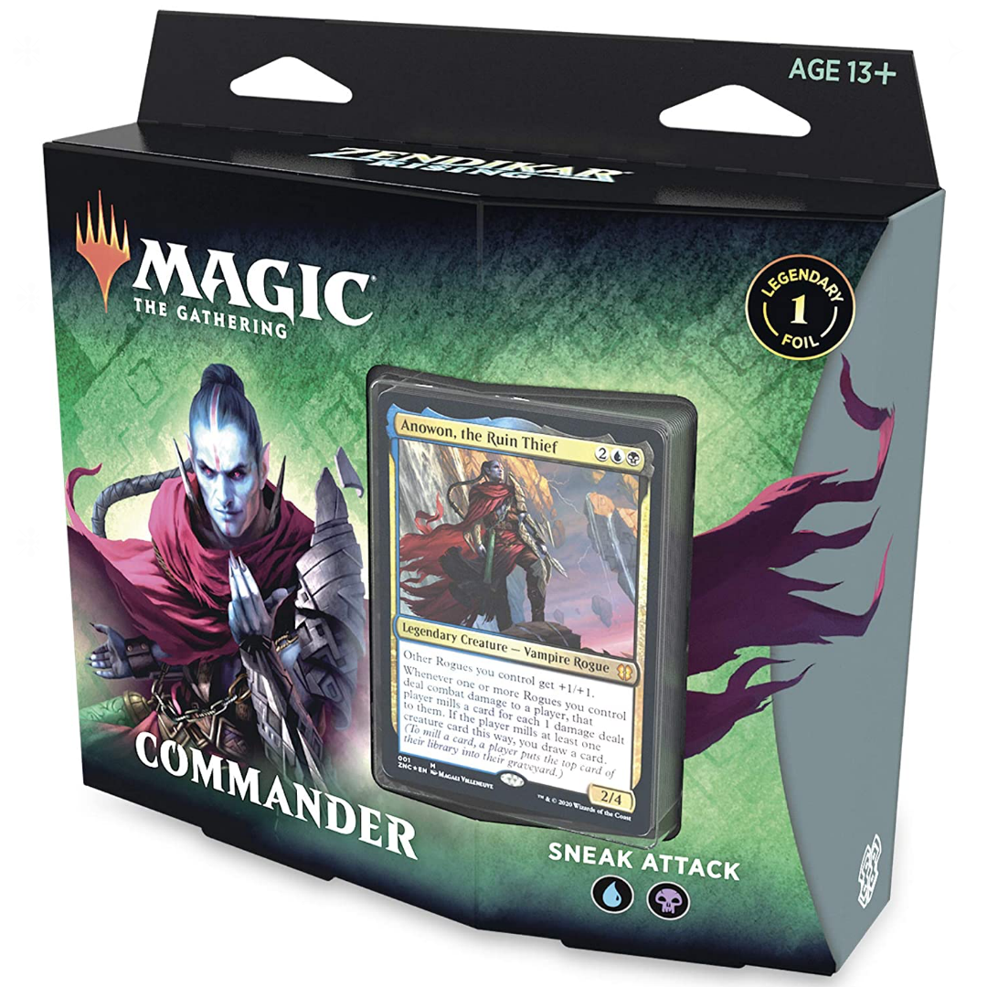 Zendikar Rising - Sneak Attack Commander Deck | Games King Store