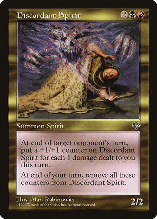 Discordant Spirit [Mirage] | Games King Store
