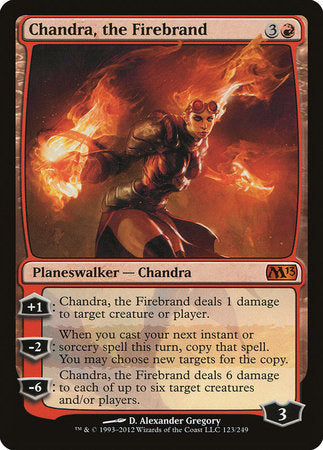 Chandra, the Firebrand [Magic 2013] | Games King Store