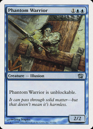 Phantom Warrior [Eighth Edition] | Games King Store