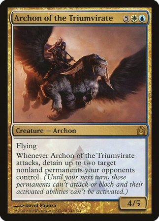 Archon of the Triumvirate [Return to Ravnica] | Games King Store