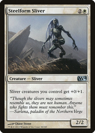 Steelform Sliver [Magic 2014] | Games King Store