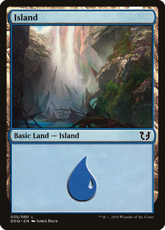 Island (35) [Duel Decks: Blessed vs. Cursed] | Games King Store