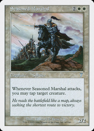 Seasoned Marshal [Seventh Edition] | Games King Store