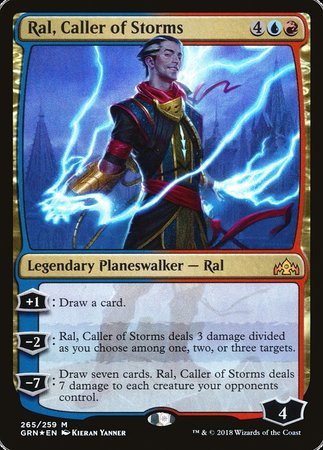 Ral, Caller of Storms [Guilds of Ravnica] | Games King Store
