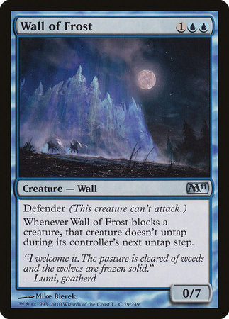 Wall of Frost [Magic 2011] | Games King Store