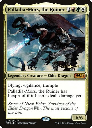 Palladia-Mors, the Ruiner [Core Set 2019 Promos] | Games King Store