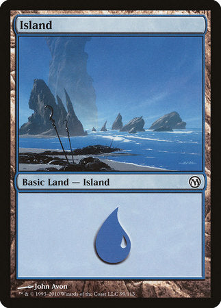 Island (99) [Duels of the Planeswalkers] | Games King Store