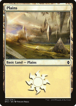 Plains (253) [Battle for Zendikar] | Games King Store