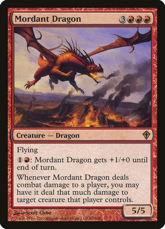 Mordant Dragon [Worldwake] | Games King Store