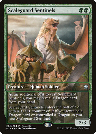 Scaleguard Sentinels [Dragons of Tarkir Promos] | Games King Store