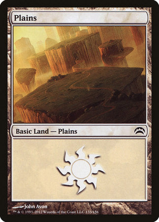 Plains (133) [Planechase 2012] | Games King Store