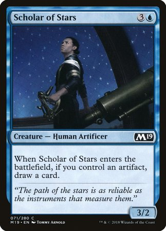 Scholar of Stars [Core Set 2019] | Games King Store