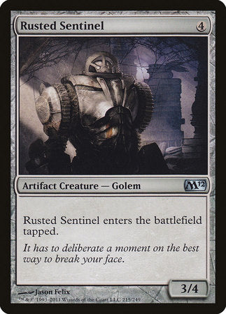 Rusted Sentinel [Magic 2012] | Games King Store