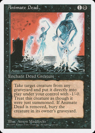 Animate Dead [Fourth Edition] | Games King Store