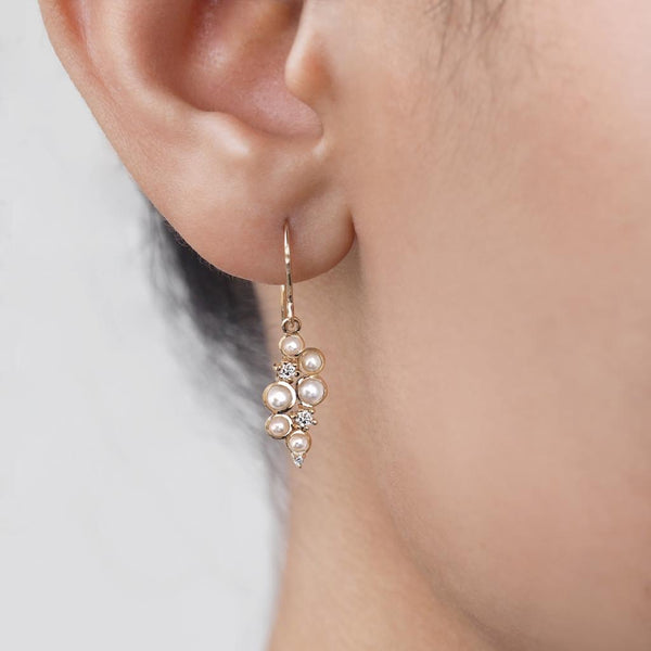 by-joy-fine-jewelry-Round Moonstone and Diamond Earrings