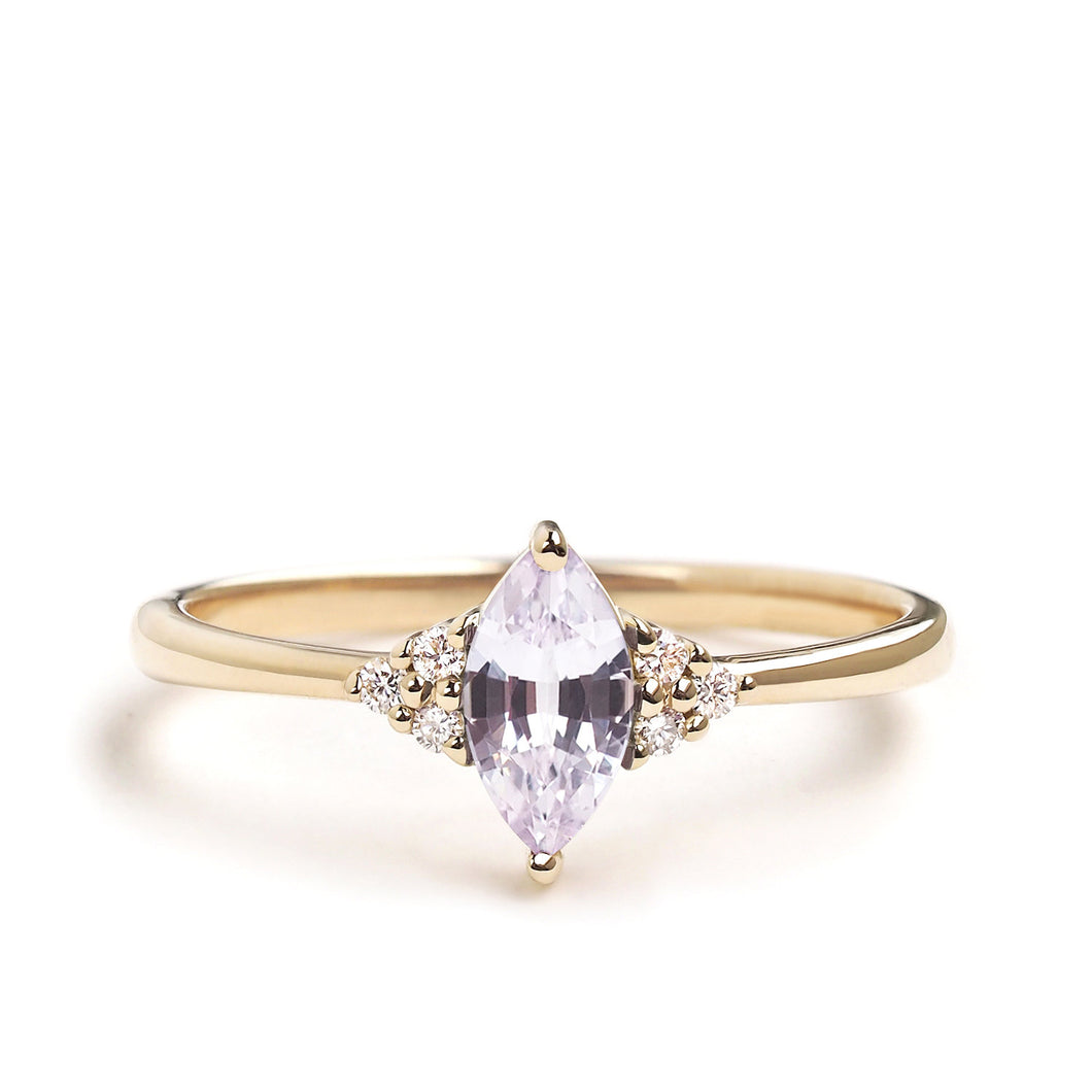 by-joy-fine-jewelry-Lilac Sapphire Marquise Flora Ring