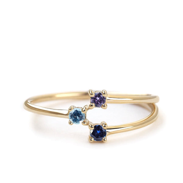 by-joy-fine-jewelry-3-stone Constellation Ring