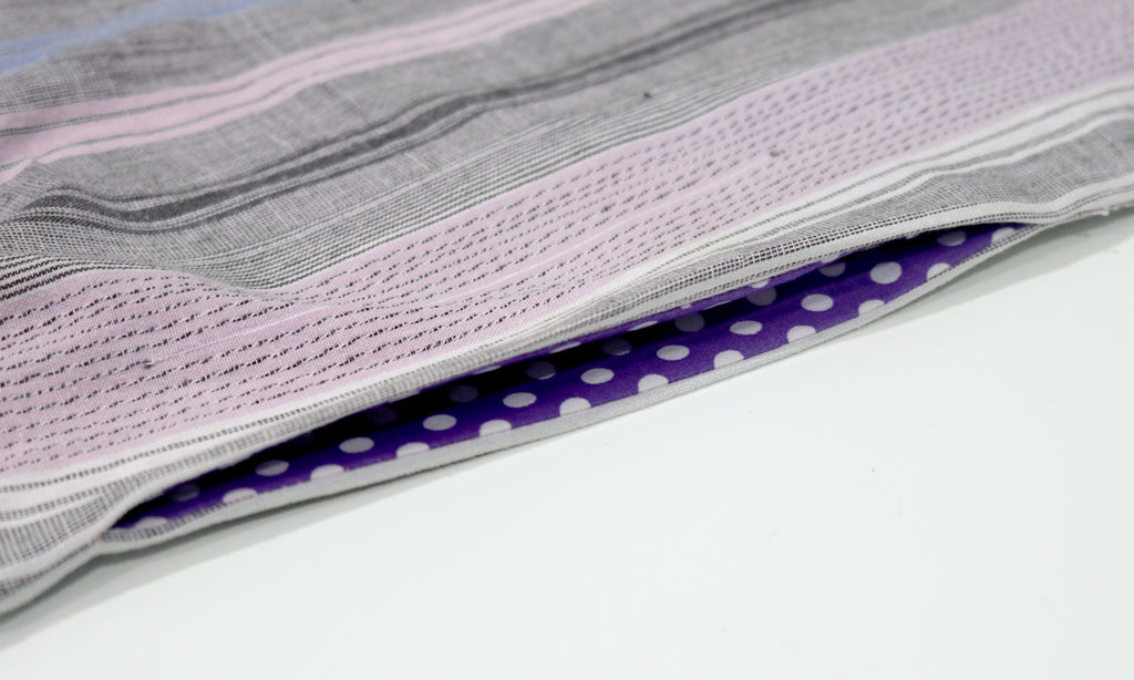 How to add a pocket to skirt or dress - finished