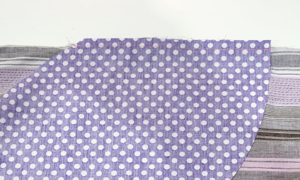 How to add a pocket to skirt or dress - sewing pocket seam