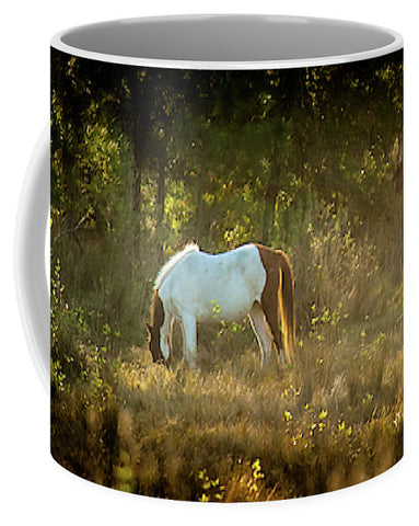 Morning Breakfast For A Wild Pony - Mug