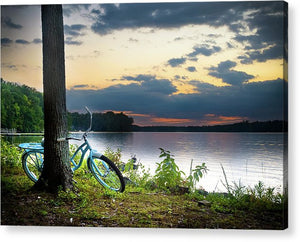 Bike Break - Acrylic Print
