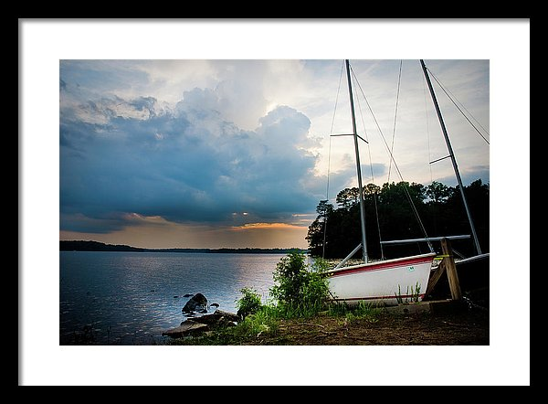 Coming Storm - Framed Print