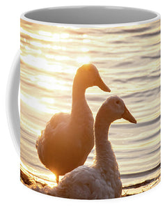 Ducks at Sunset - Mug