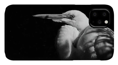 Great Egret In The Shadows - Phone Case