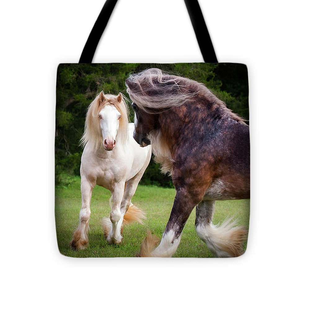 Gypsy Cob Intersection Of Trust  - Tote Bag