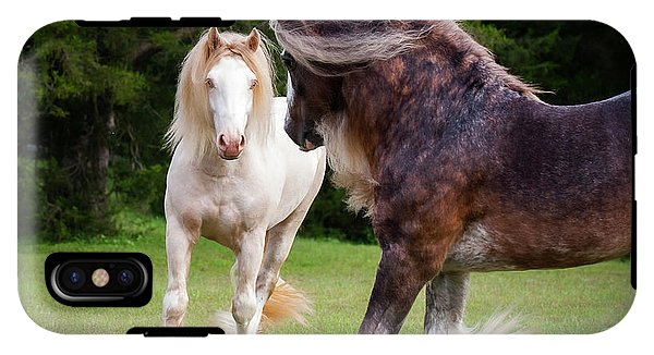 Gypsy Cob Intersection Of Trust  - Phone Case