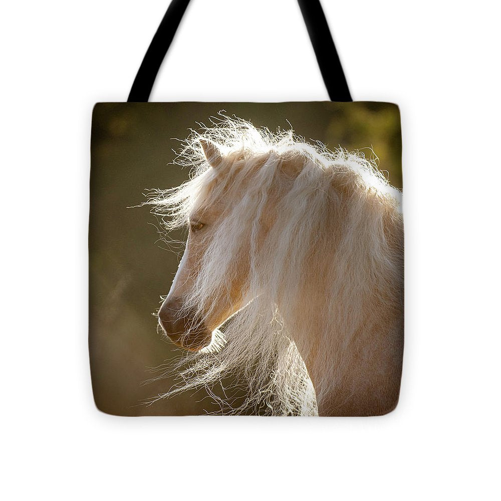Mane Of Gold - Tote Bag