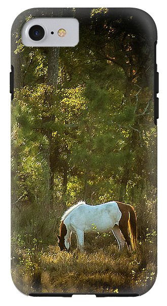 Morning Breakfast For A Wild Pony - Phone Case