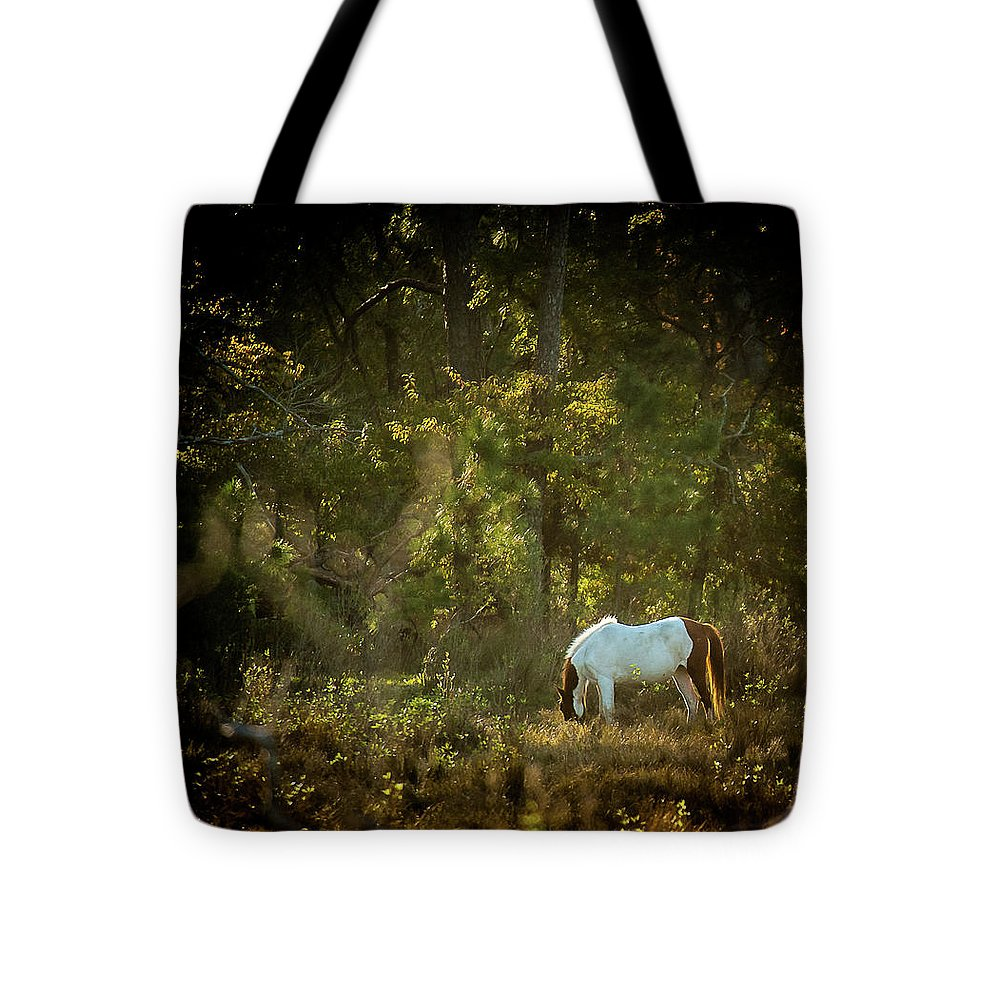 Morning Breakfast For A Wild Pony - Tote Bag