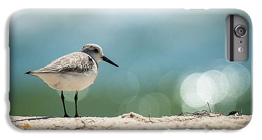 Sanderling On The Beach - Phone Case