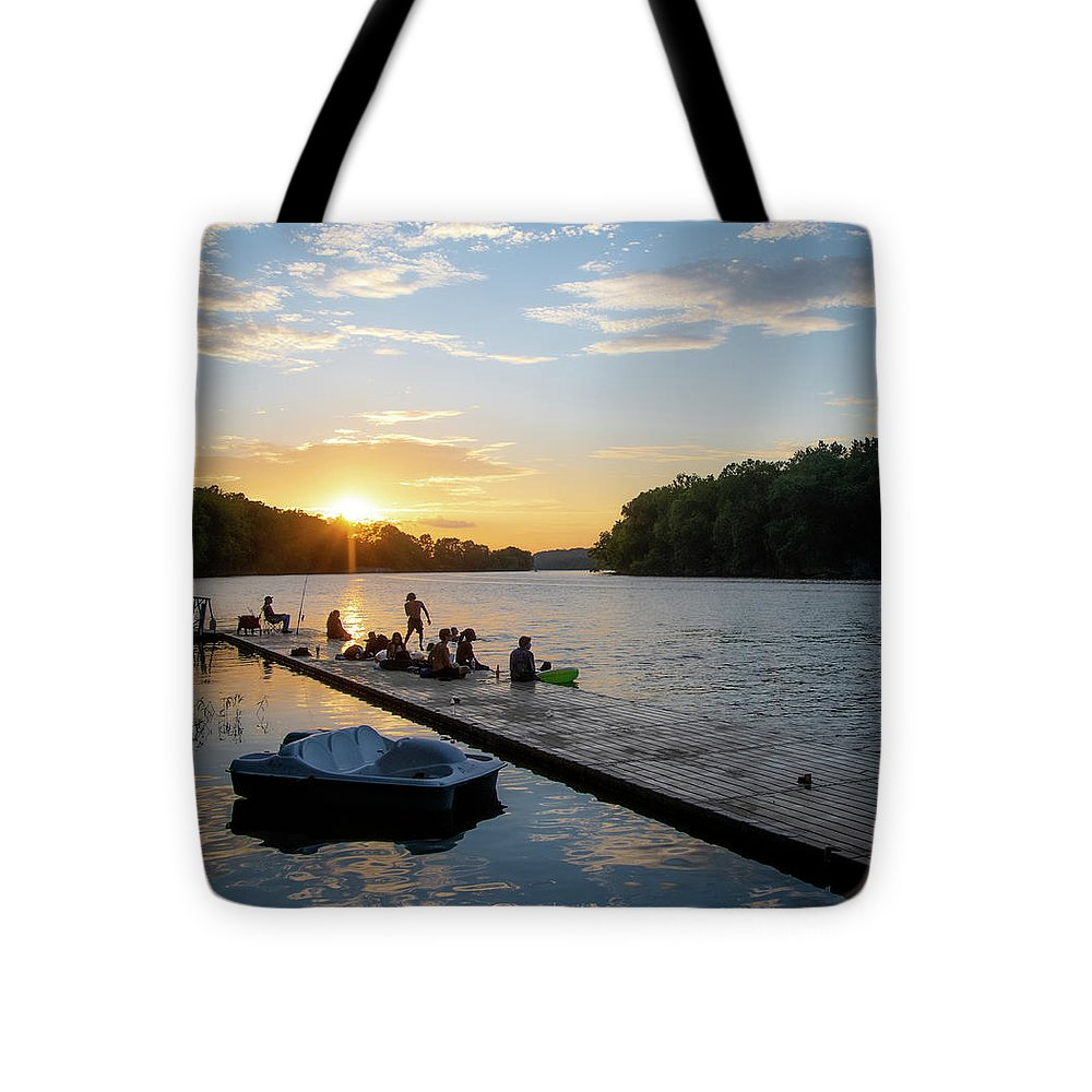 Summer Sunset Fun - Tote Bag