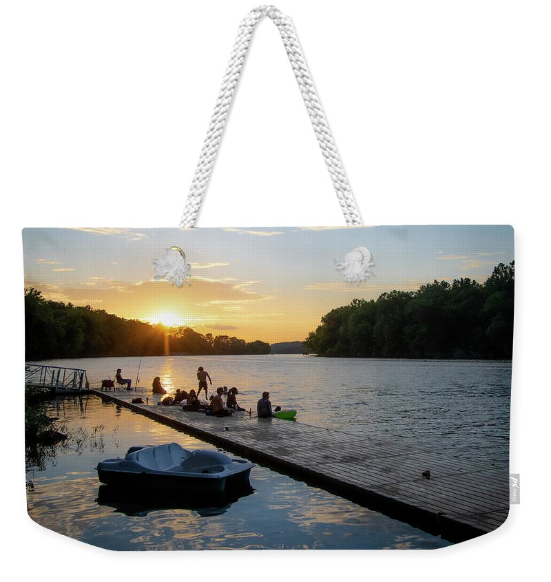 Summer Sunset Fun - Weekender Tote Bag