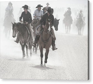 The Cowboy Way - Acrylic Print