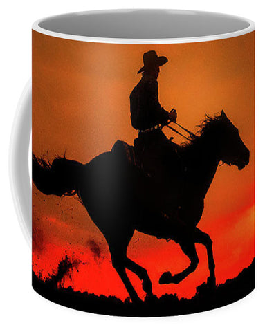 Western Red Sunset - Mug