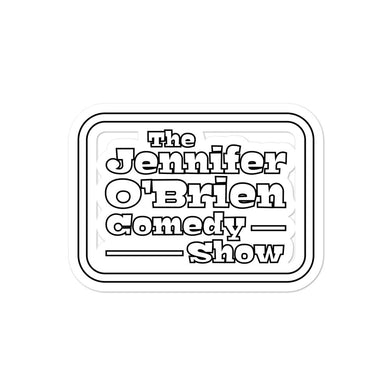 Jennifer O'Brien Comedy Show Sticker