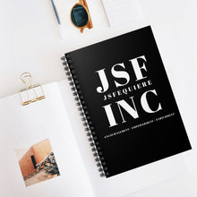 Load image into Gallery viewer, JSF INC Spiral Notebook - Ruled Line