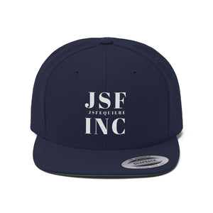 JSF INC Unisex Flat Bill Hat