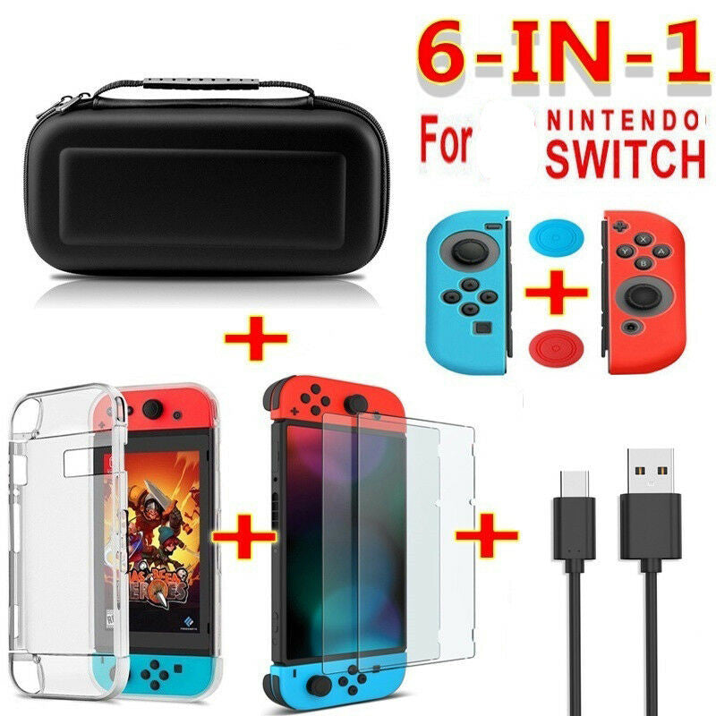 Hot Sale! Nintendo Switch Dream Set! 6 in 1!