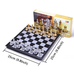 Chess Set Gold/Silver