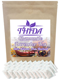 Chamomile Lavender Tea 30 Bags | Herbal Life Tea From Thailand