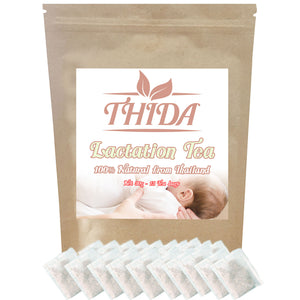 Lactation Tea 15 Bags for Breastfeeding | Support Healthy Breastmilk | Asian Herbal Life Boost & Herb Tea Supply From Thailand