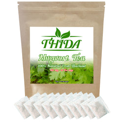 Mugwort Tea 15 Bags | Asian Herb Tea Mugwort Leaves Supply From Thailand
