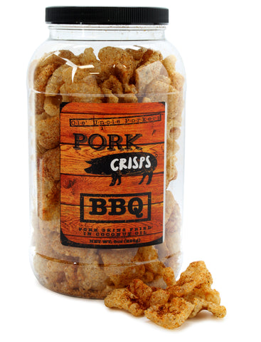 Spicy Barbecue Pork Rinds (Keto Friendly)