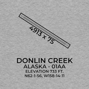 01aa crooked creek ak t shirt, Gray